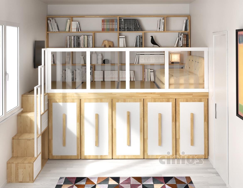 Pedana soppalco armadio la soluzione salvaspazio per i - Camera da letto soppalco ...