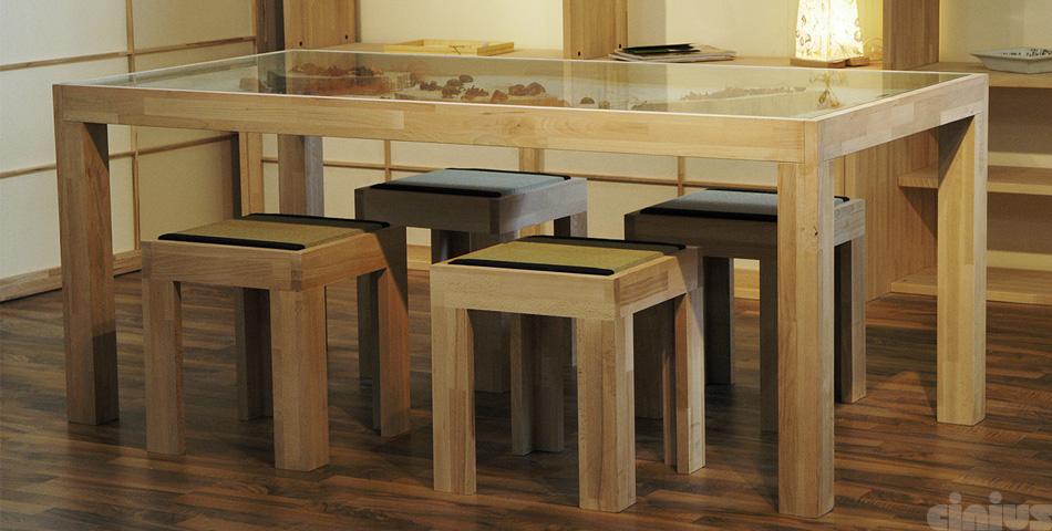 Tavoli e tavolini online: vendita mobili gipponesi in legno