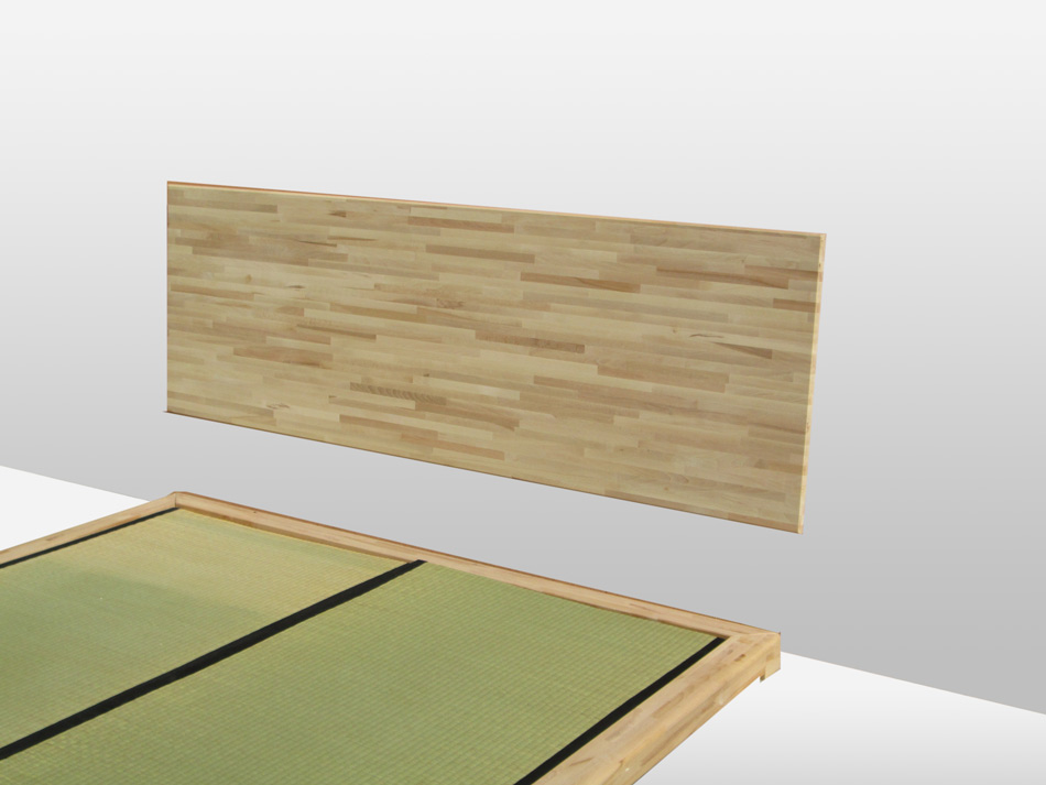 Testate per letto Cinius: in tessuto o in legno per ogni arredamento