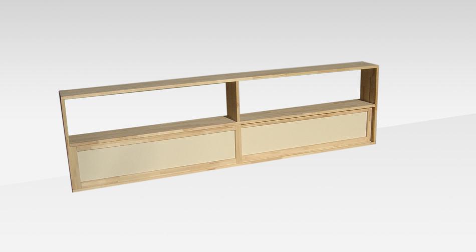 Testate per letto cinius in tessuto o in legno per ogni arredamento - Testiera letto libreria ...