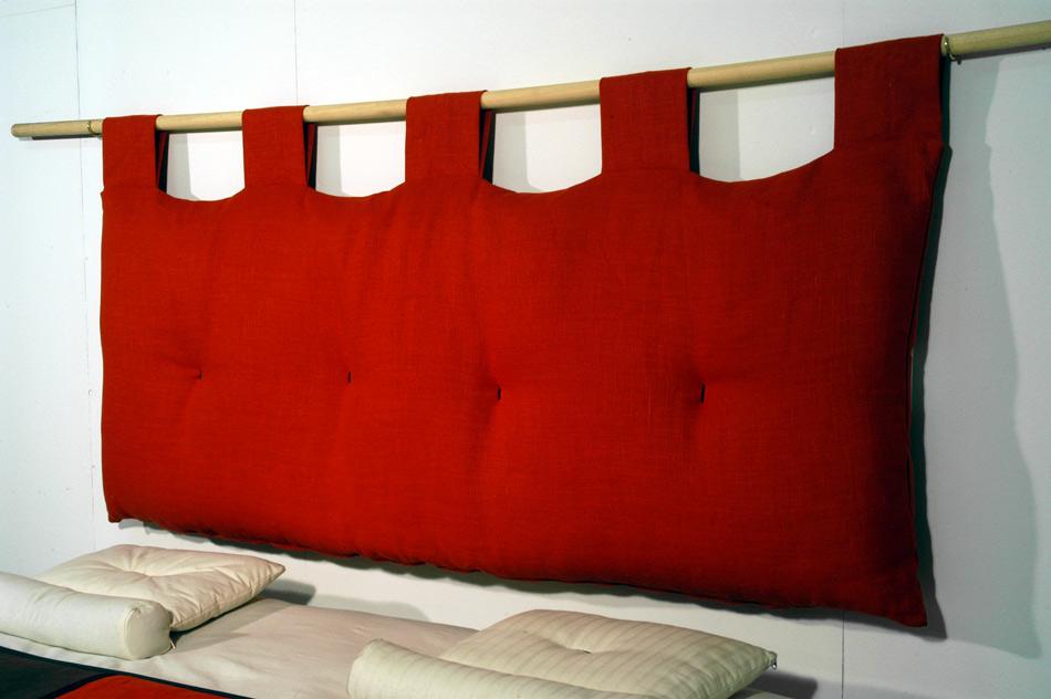 Testate per letto cinius in tessuto o in legno per ogni arredamento - Testiere imbottite per letto ...